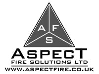 aspect fire solutions logo bw