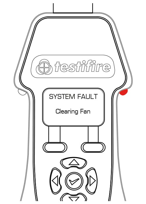 System Fault - clearing fan