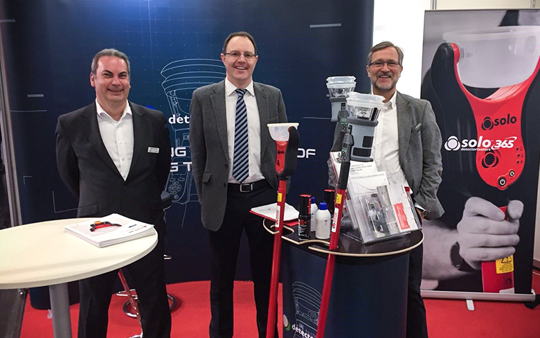 Detectortesters at FeuerTrutz 2019