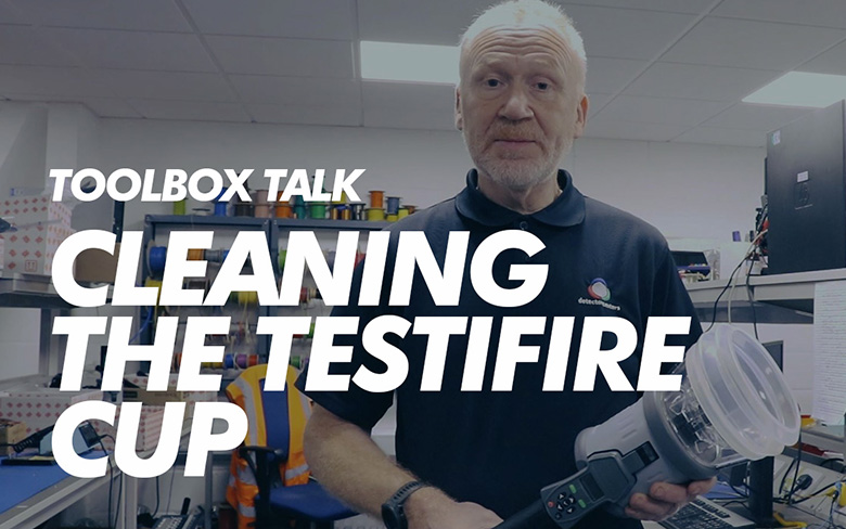 Toolbox Talk - Cleaning the Testifire Cup