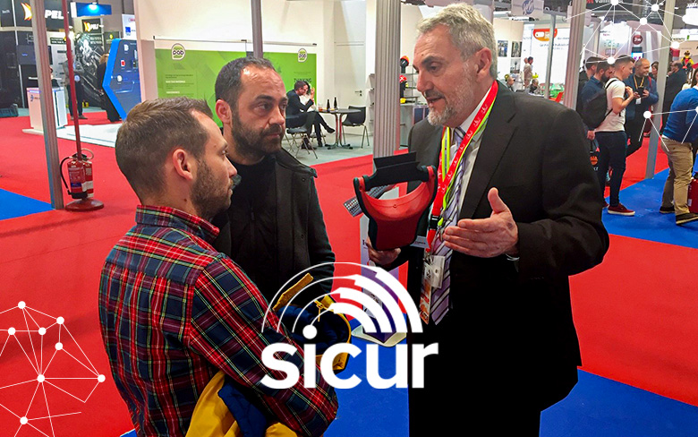 Detectortesters at SICUR 2020, Madrid
