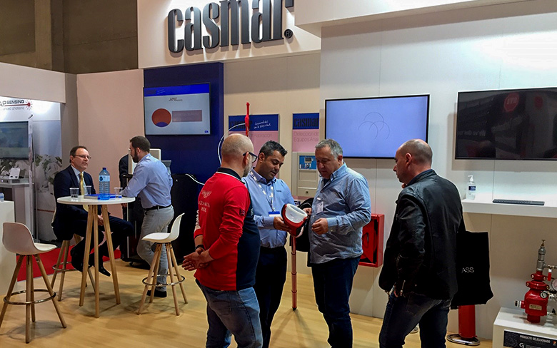 Solo 365 demonstrated on the Casmar stand at SICUR 2020