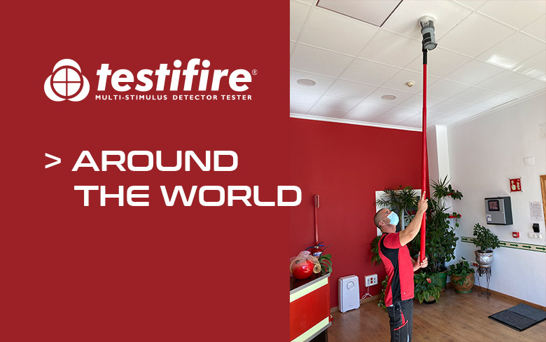 Testifire around the world